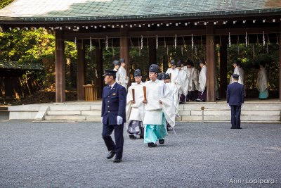 Procession during the Meiji Jingu Enshrinement Anniversary Ceremony at Meiji Jingu Shrine