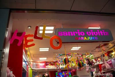 Sanrio store in Harajuku