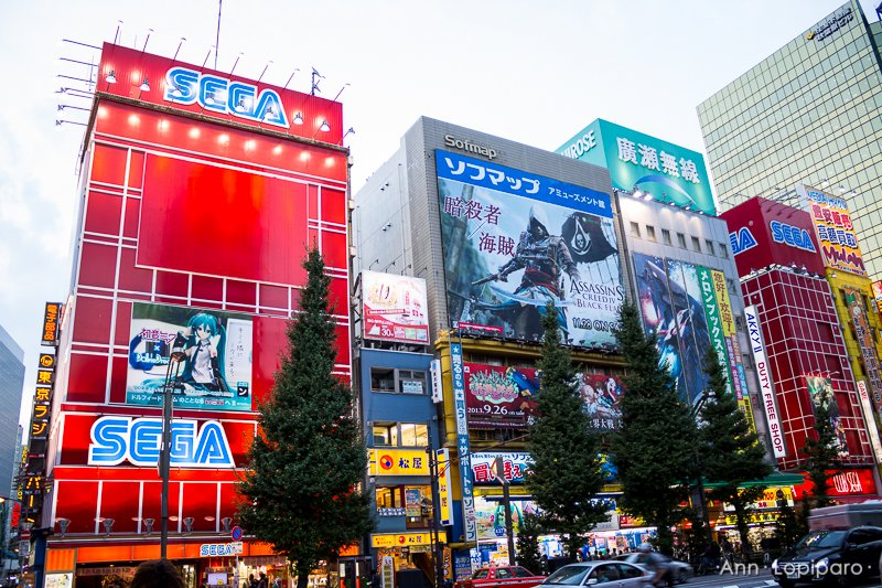 Akihabara's main street.