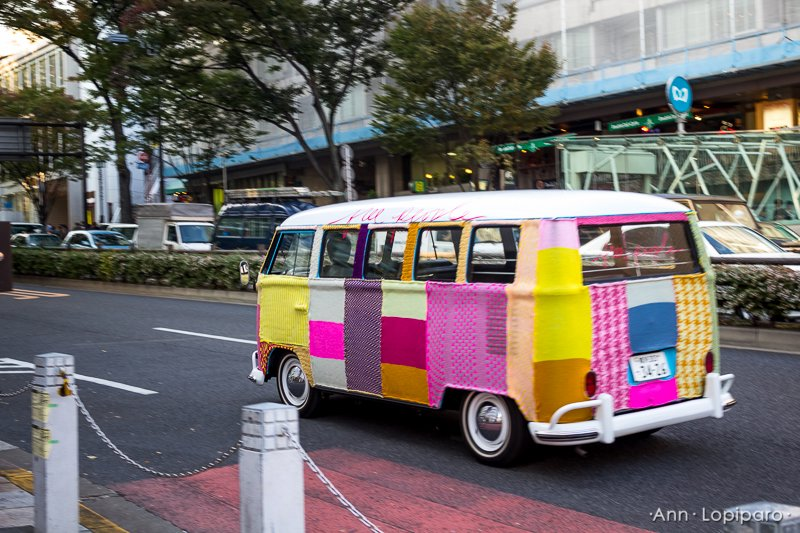 VW Bus in Harajuku