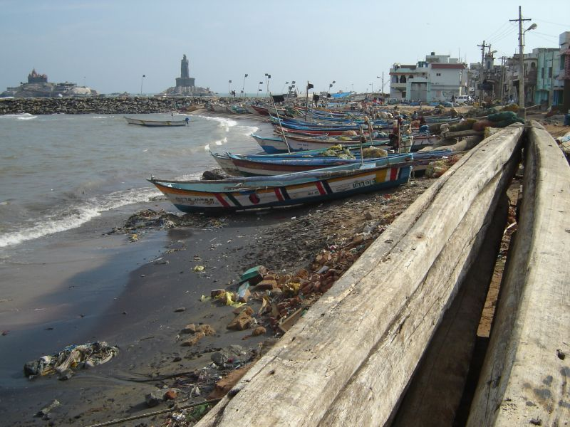 Kanyakumari - Fishermen port