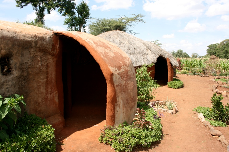 Traditional turkana house near Isiolo