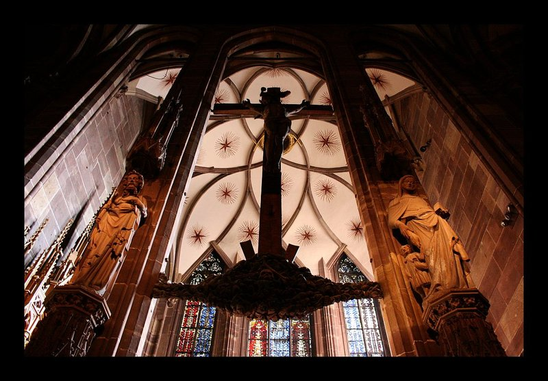 Strasbourg - in the cathedral