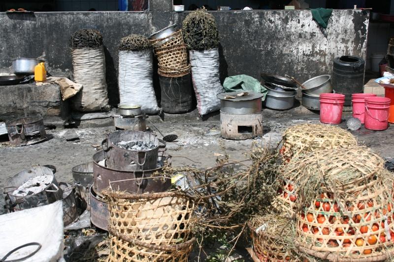 market in Mwanza