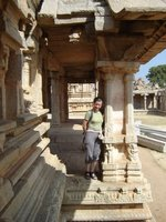 Hampi - me and the Vijayanagar ruins 3