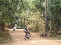 On the way to Auroville near Pondicherry