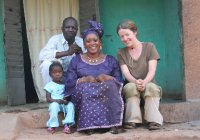 My Malian family from Sikasso