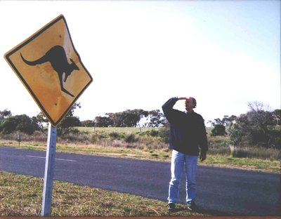 Look - no kangaroo's !