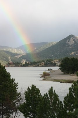 Rainbow at Estes Park, CO