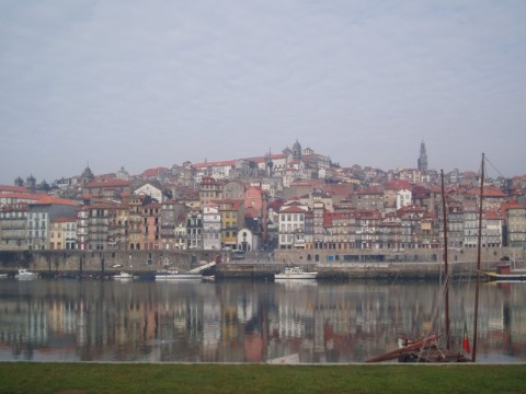 A view back to Porto