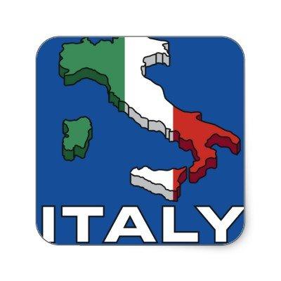 italia map logo