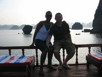 Us in Ha Long Bay