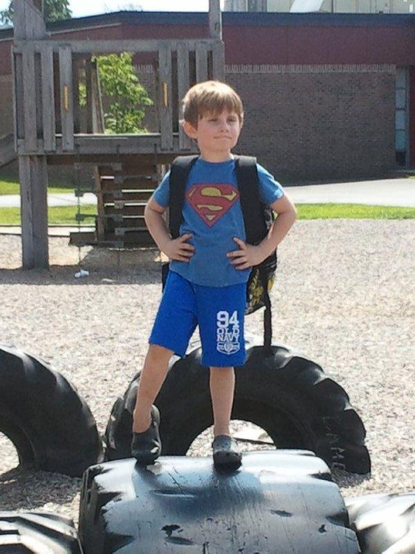2013-08-12 our own little superhero!