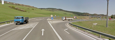From: Mochovská to To: Unknown road - Google Maps - Chromium_004