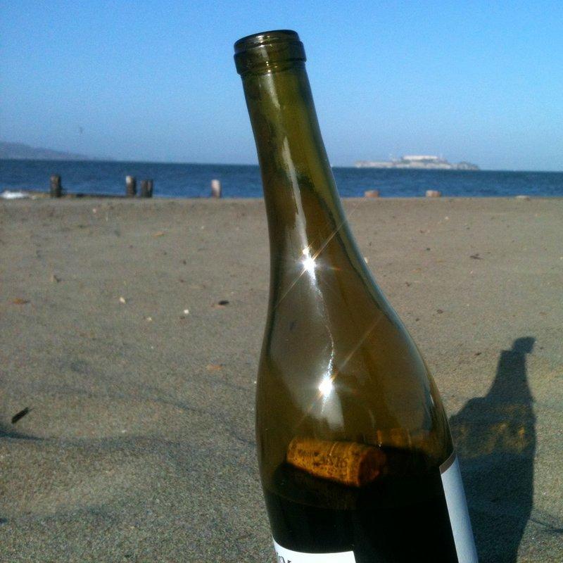 Sun, beach and wine