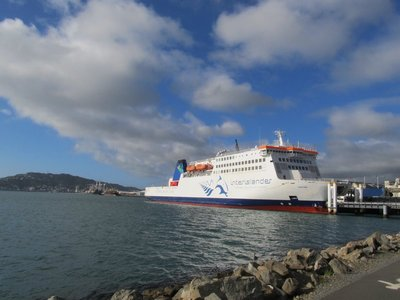 New Zealand Interisland Ferry