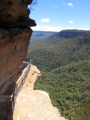 Cliff Lookout-sunshine