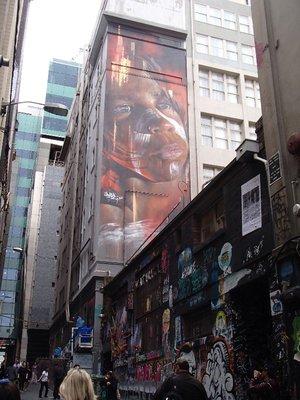 Melbourne street art