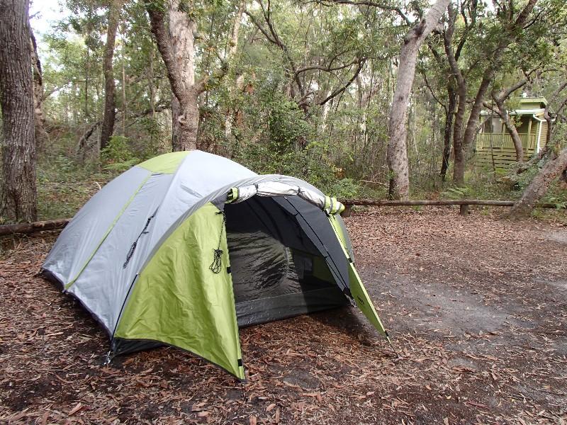 Campsite #1, Noosa Everglades