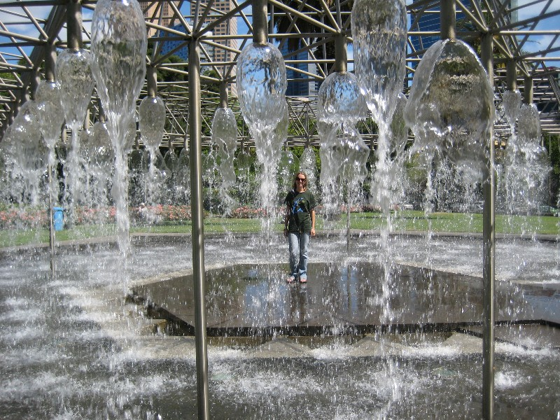 Melbourne fountain