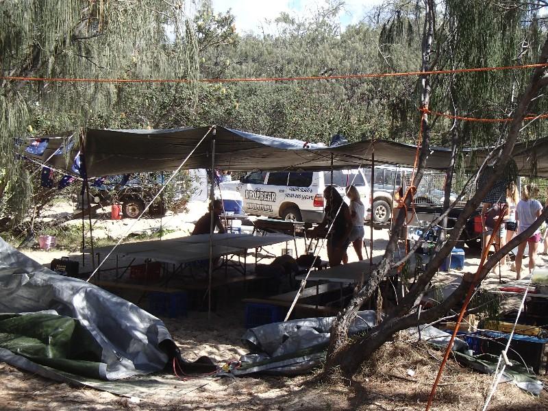 Drop Bear campsite