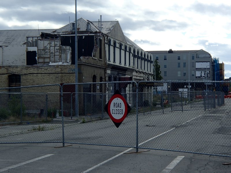Christchurch earthquake damage still present 3 years later