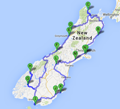 South Island Roadtrip