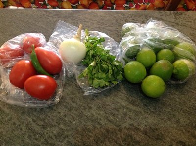 Ready to make pico de gallo