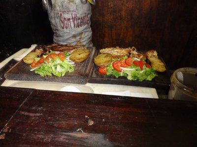 Dinner at La Portena