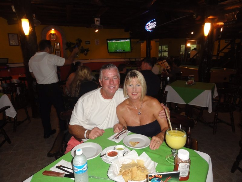 Dinner at Pez Vela