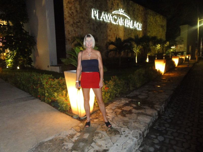Barbara at Playacar Palace