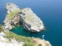 Skiathos Cliff