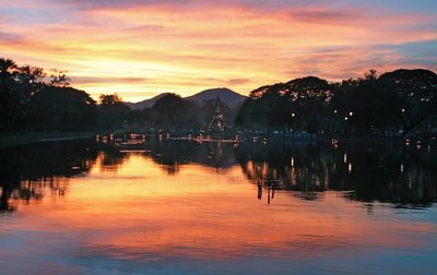 Loi Krathong lantern festival, Sukhothai