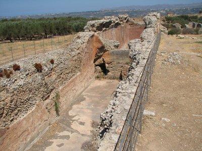 Ancient Roman vaulted cisterns, Aptera