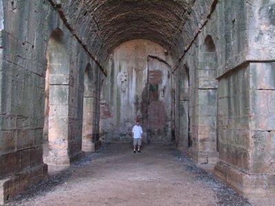 Single chamber of 3-part Roman cisterns, Aptera