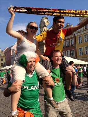 Ireland, Poland and Turkey unite