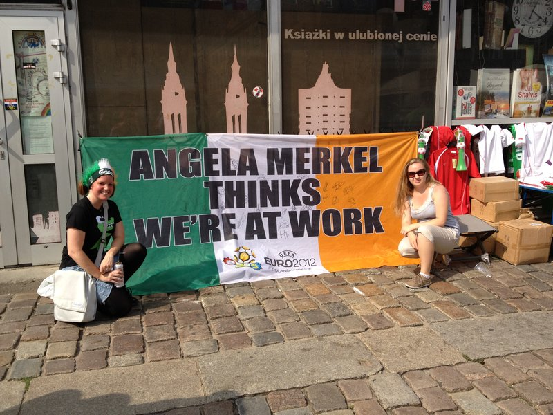 Angela Merkel thinks we are at work