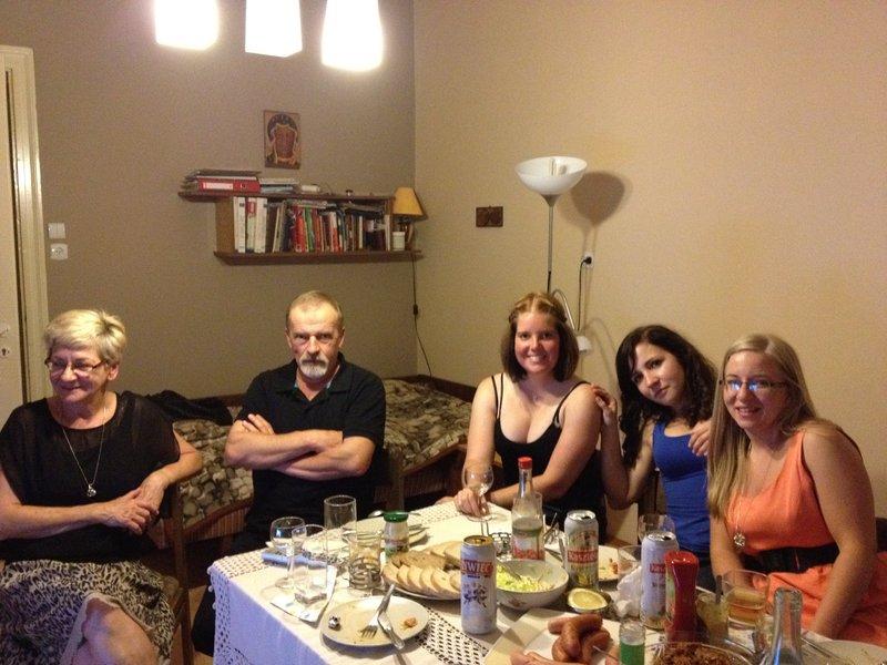 Ola's family in Krotoszyn