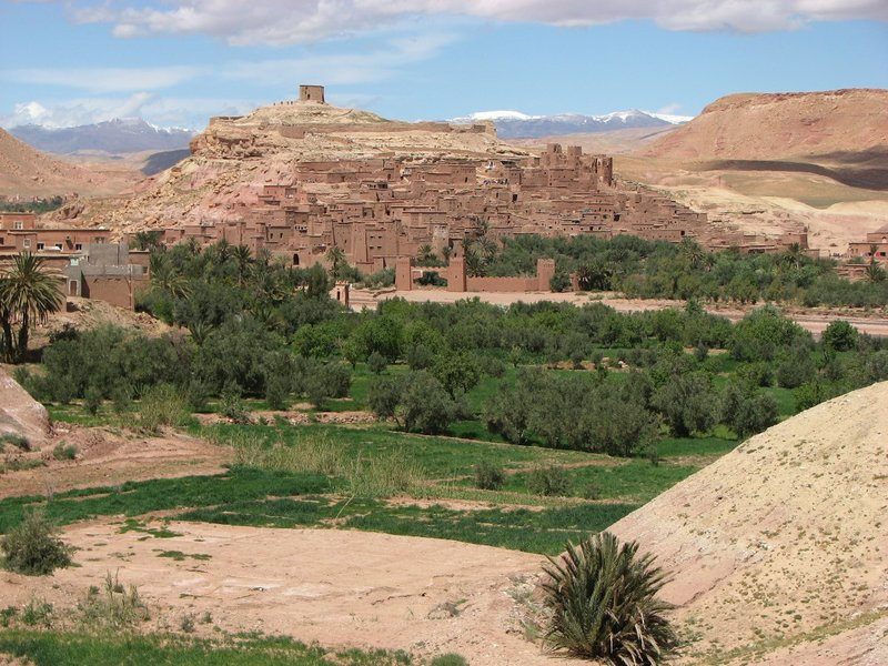 Aït Benhaddou : vue de la forteresse