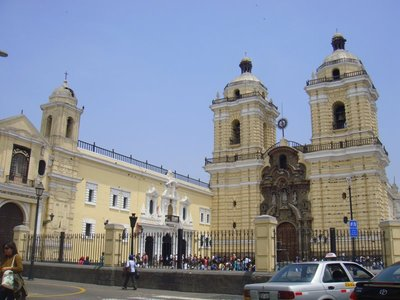San Francisco Church, Lima