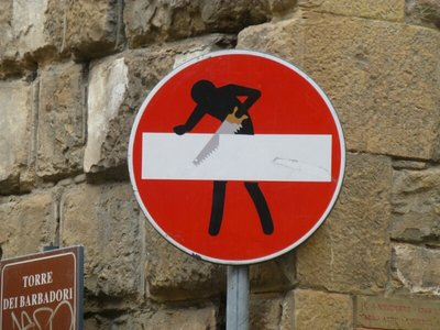 Subversive Art and Traffic Signs