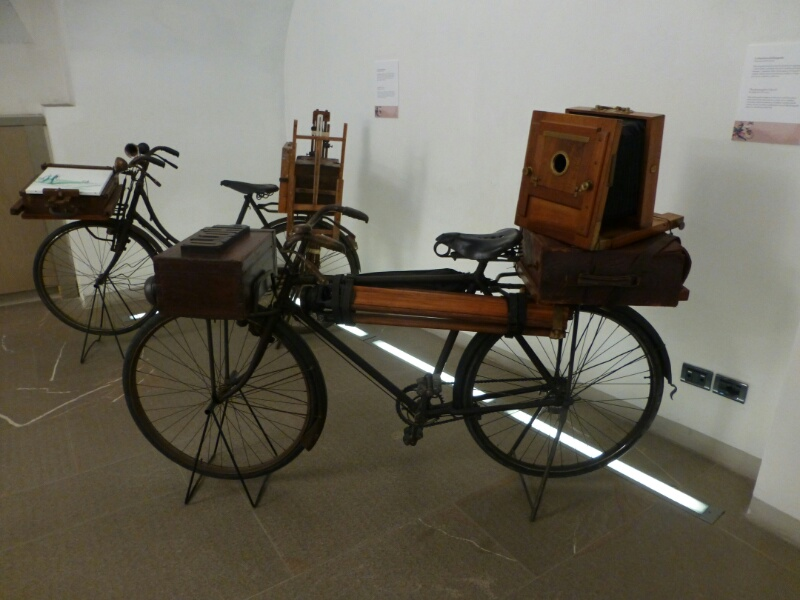 Bike exhibition at Museo GALILEO