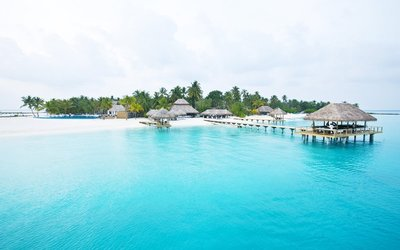 Beautiful Maldives Island
