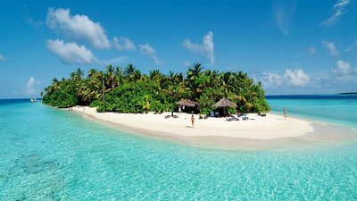 The Beautiful Maldives.