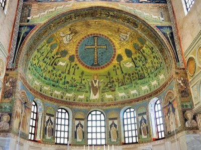 Mosaic Basilica of St Apollinaria in Classe