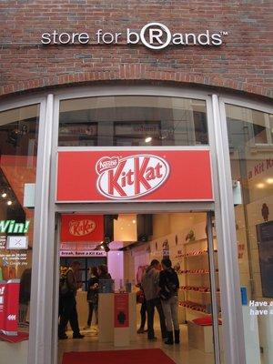The kit kat shop
