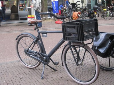 Bicycle with Milk Crate?