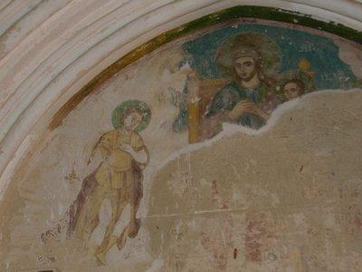 Bellapaiz Church Fresco