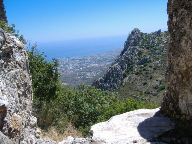View from Saint Hilarion's Castle