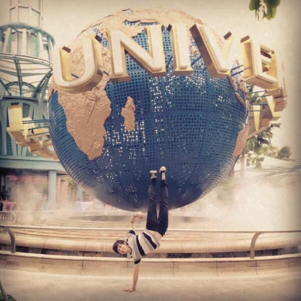 Universal Globe FREEZE !!